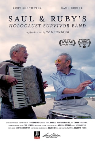 Saul & Ruby's Holocaust Survivor Band poster