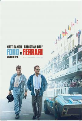 Ford v. Ferrari poster and content link